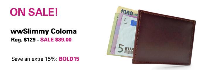 Slimmy Coloma Luxury Wallet